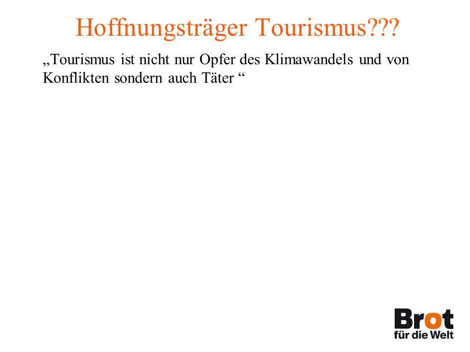 Hoffnungsträger Tourismus