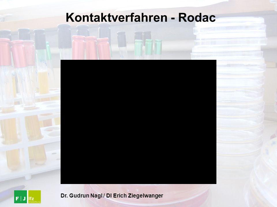 Kontaktverfahren - Rodac