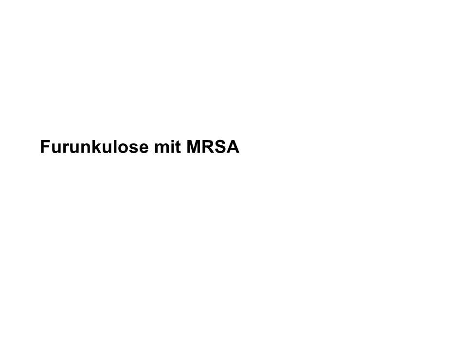 Furunkulose mit MRSA