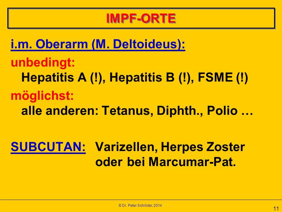 i.m. Oberarm (M. Deltoideus):