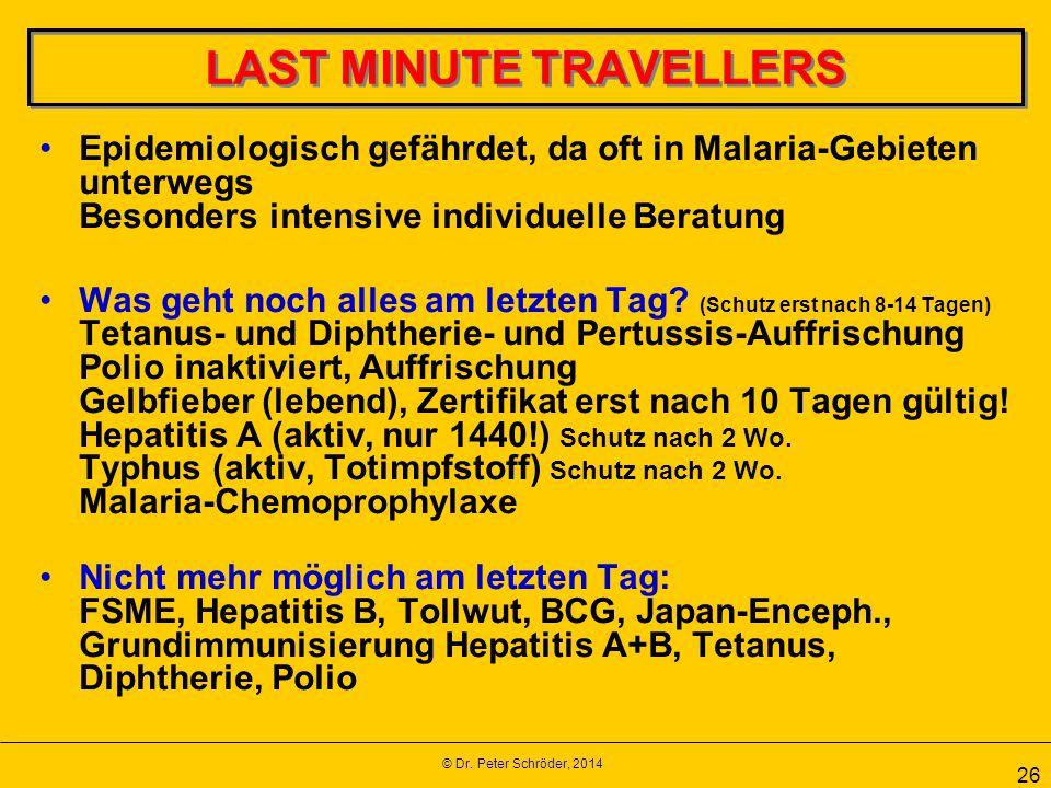 LAST MINUTE TRAVELLERS
