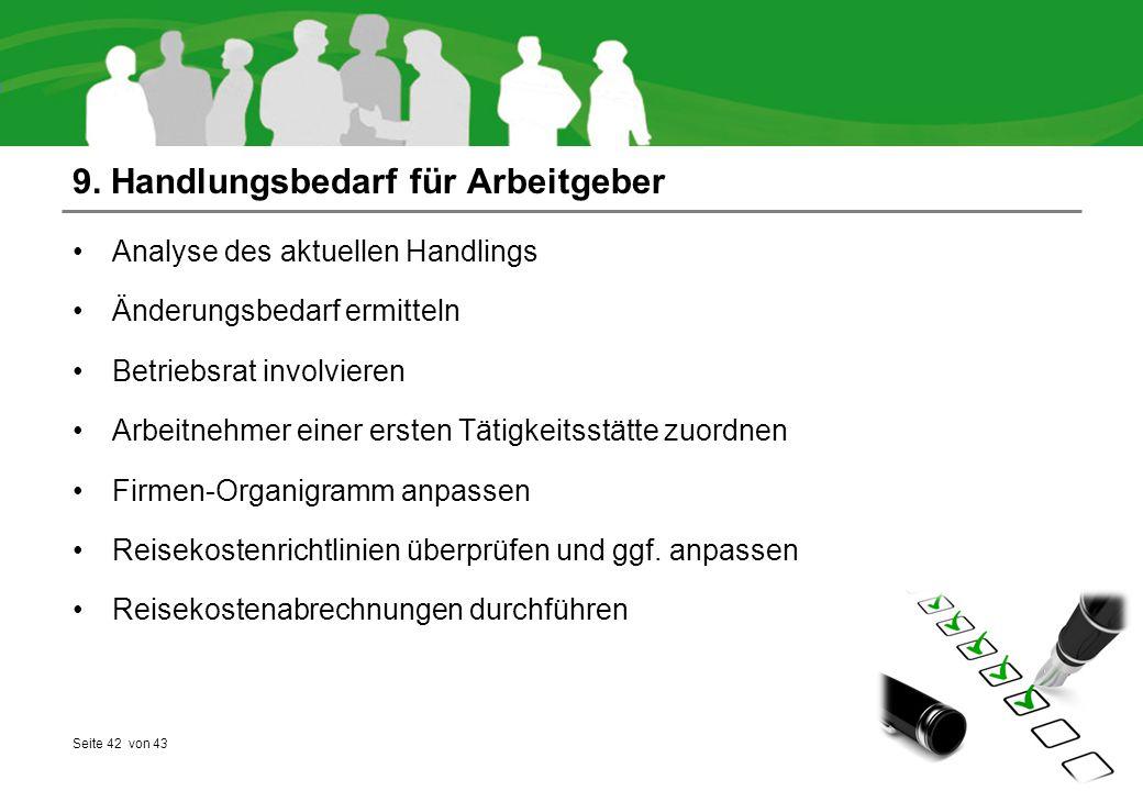 9. Handlungsbedarf für Arbeitgeber