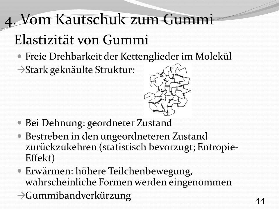 4. Vom Kautschuk zum Gummi