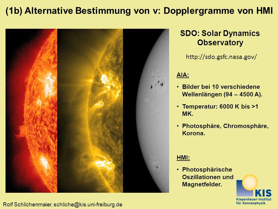 SDO: Solar Dynamics Observatory
