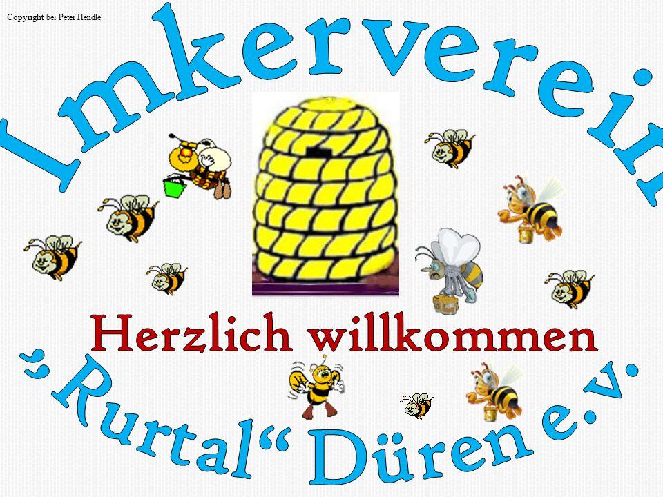 """Herzlich willkommen Imkerverein """"Rurtal Düren e.v."""