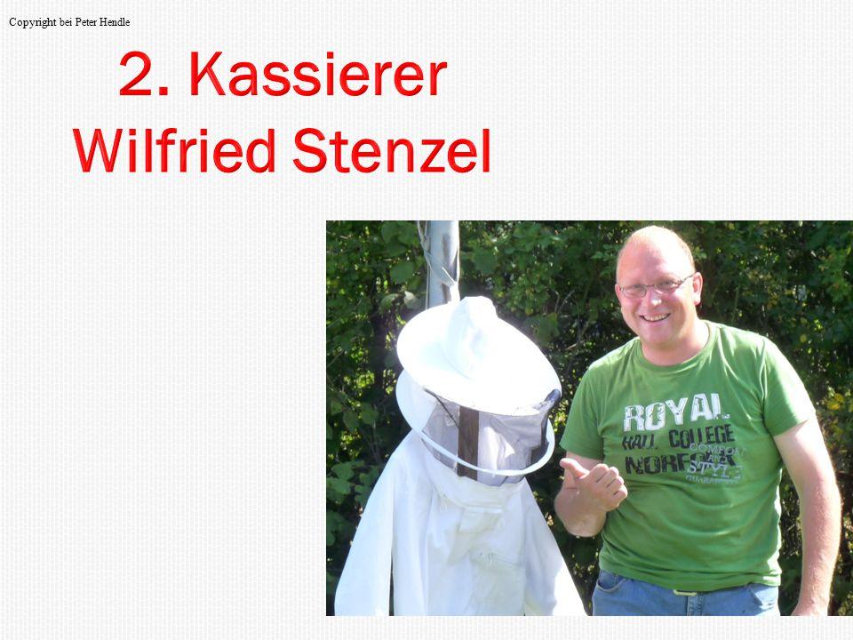 2. Kassierer Wilfried Stenzel