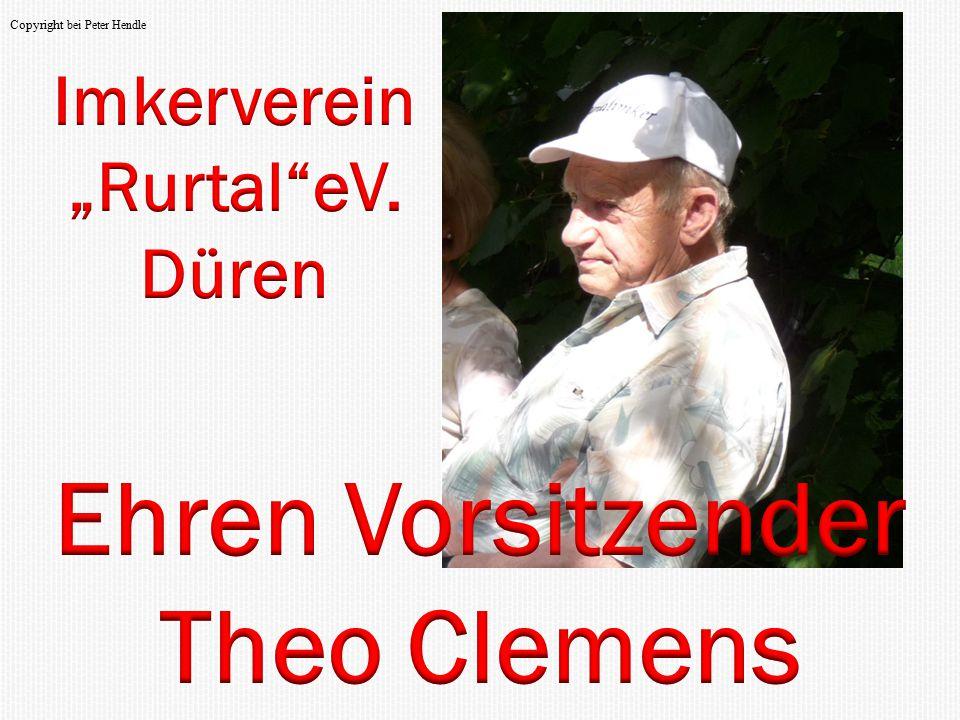 Ehren Vorsitzender Theo Clemens