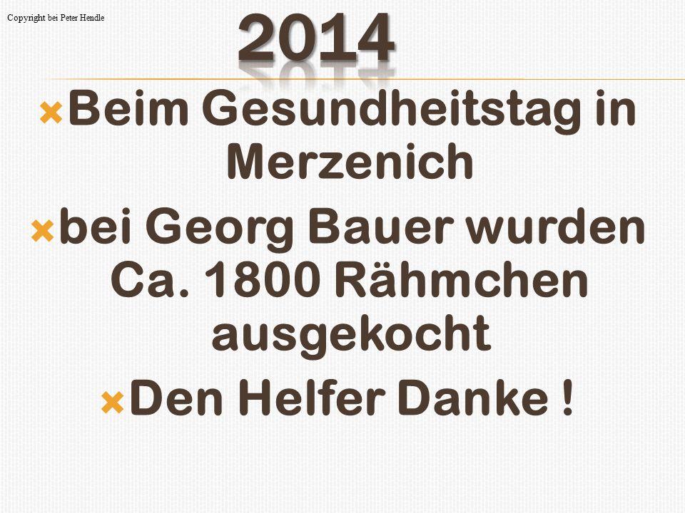 2014 Beim Gesundheitstag in Merzenich