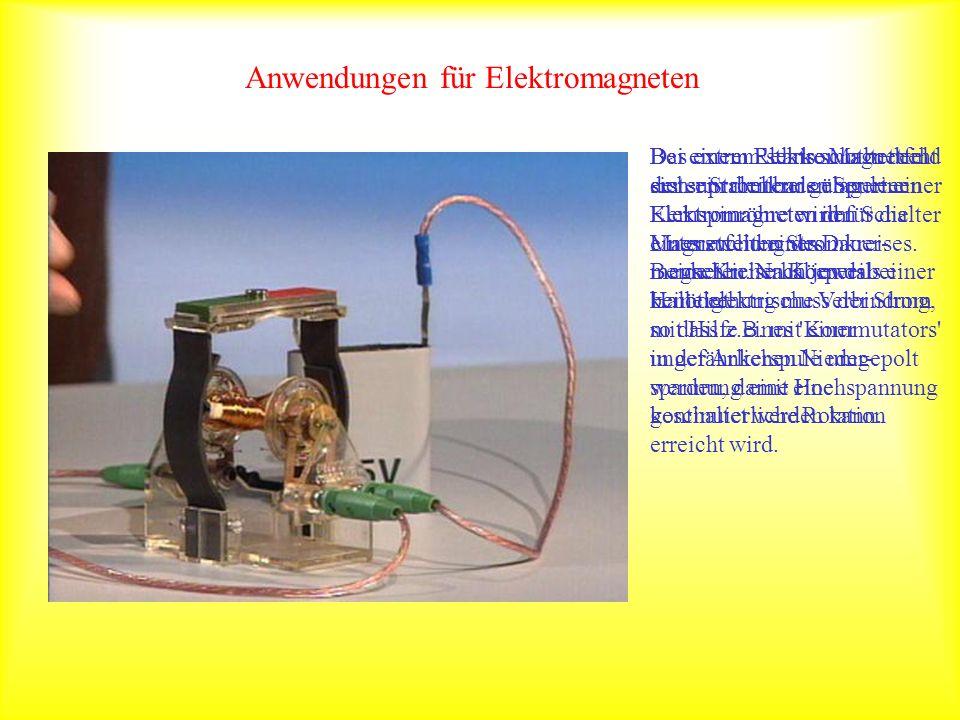 Anwendungen für Elektromagneten