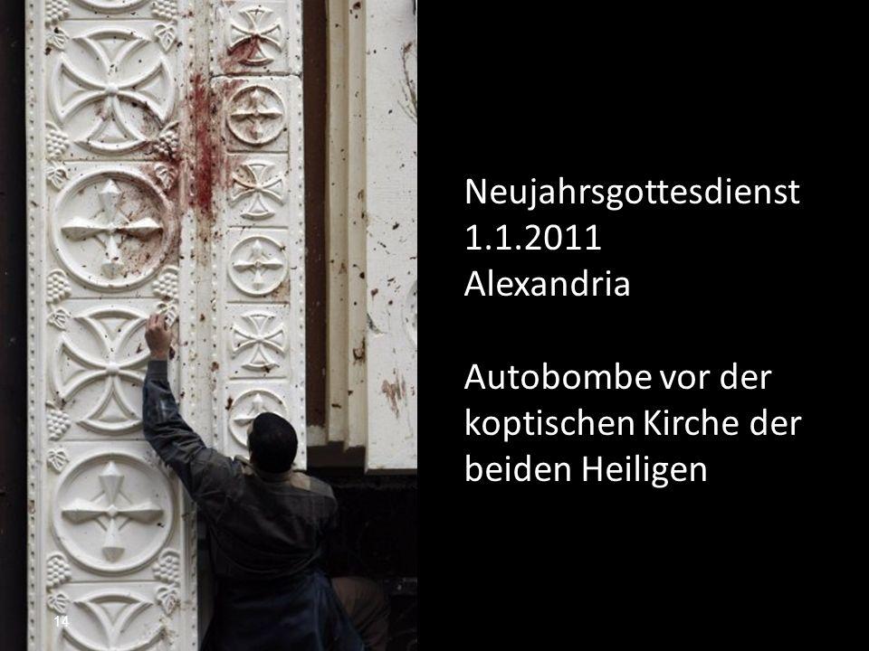 Neujahrsgottesdienst 1.1.2011
