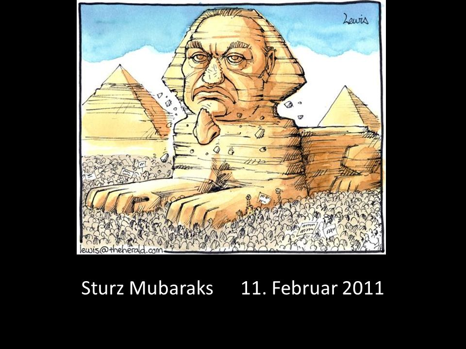 Sturz Mubaraks 11. Februar 2011