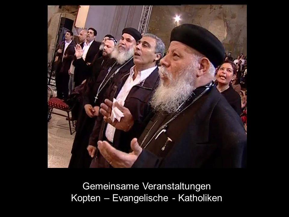 Gemeinsame Veranstaltungen Kopten – Evangelische - Katholiken