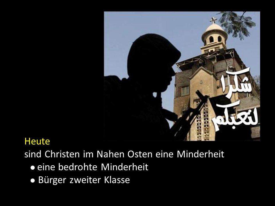 sind Christen im Nahen Osten eine Minderheit