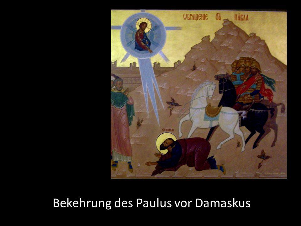 Bekehrung des Paulus vor Damaskus