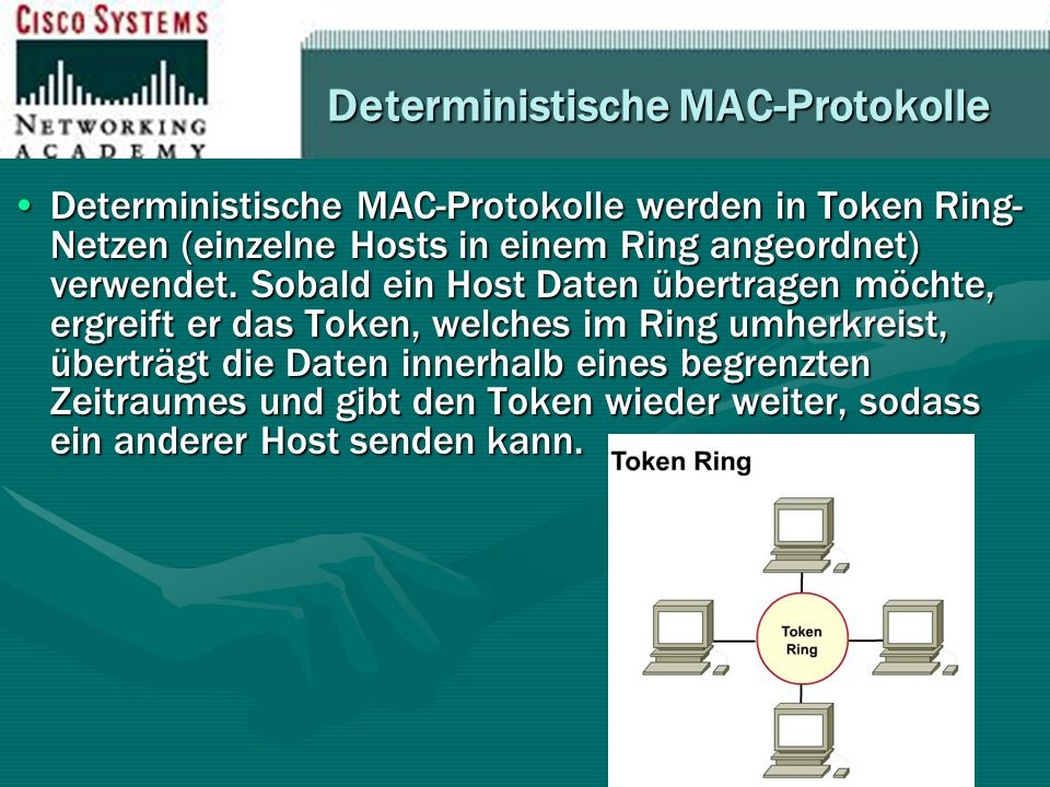 Deterministische MAC-Protokolle
