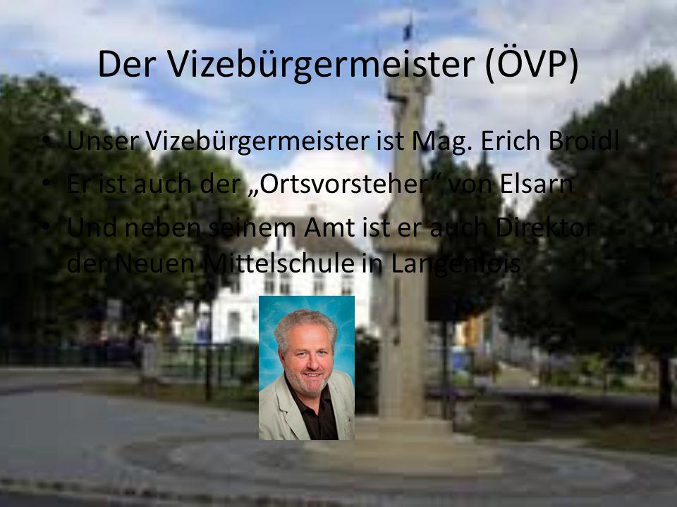 Der Vizebürgermeister (ÖVP)