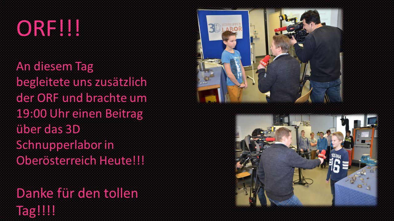 ORF!!! Danke für den tollen Tag!!!!