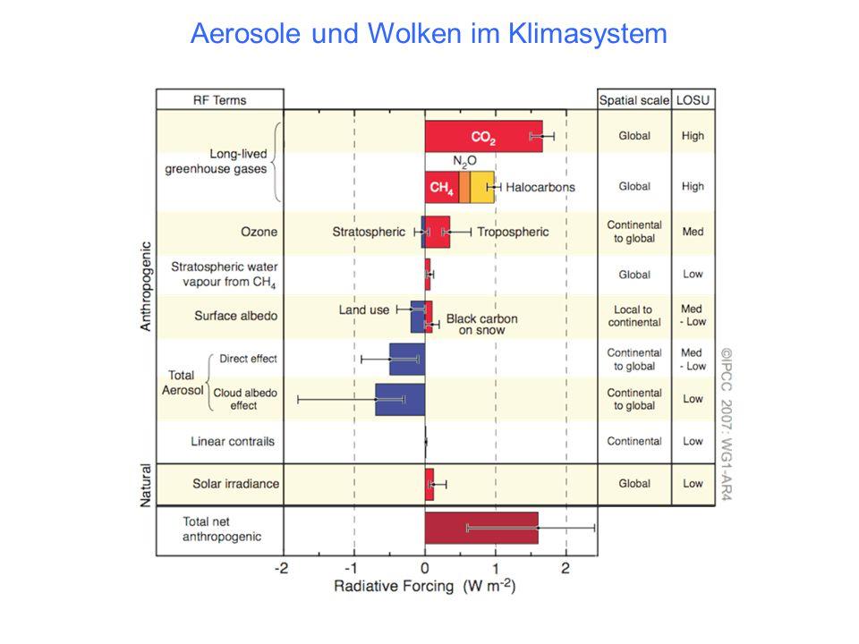 Aerosole und Wolken im Klimasystem