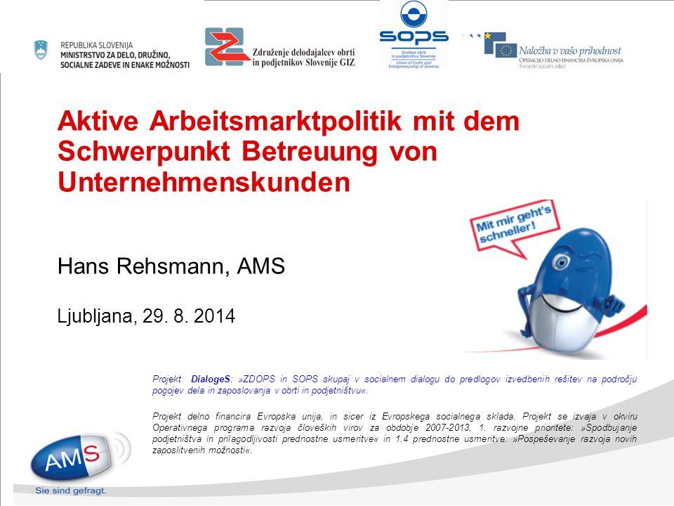 Themen und Inhalte Arbeitsmarkt aktuell Rahmenbedingungen/ Auftrag