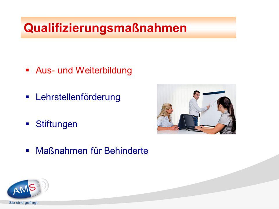 Aus- und Weiterbildungsmaßnahmen 2014