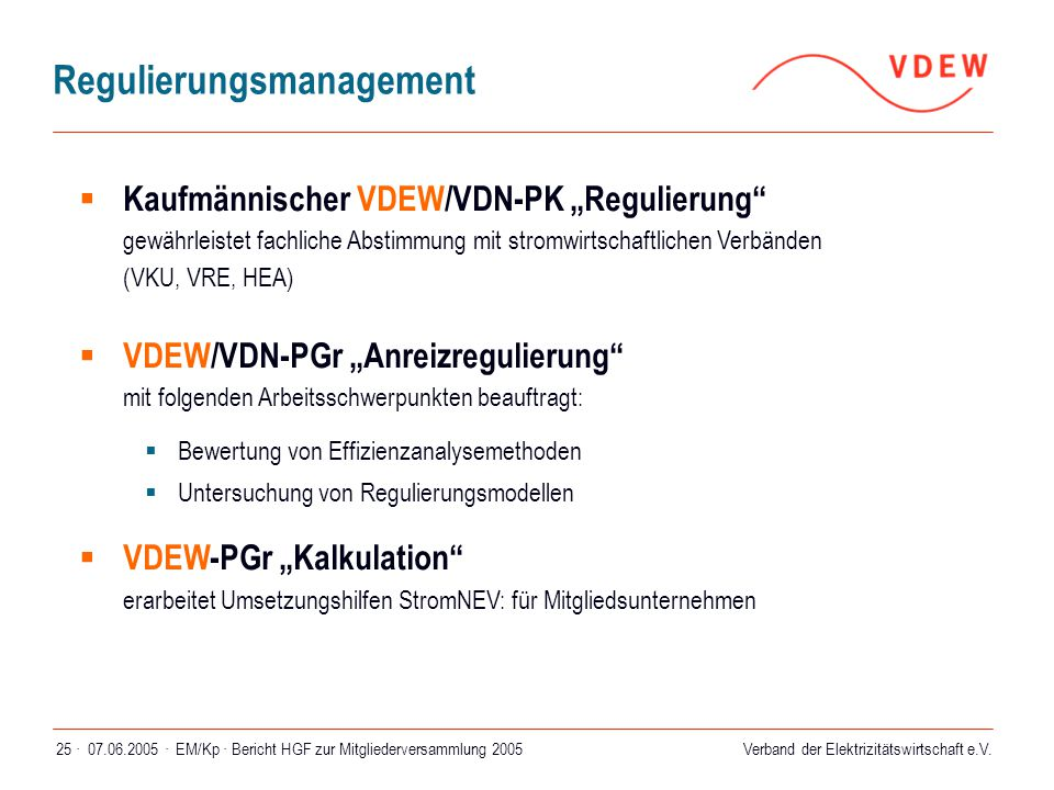 Regulierungsmanagement