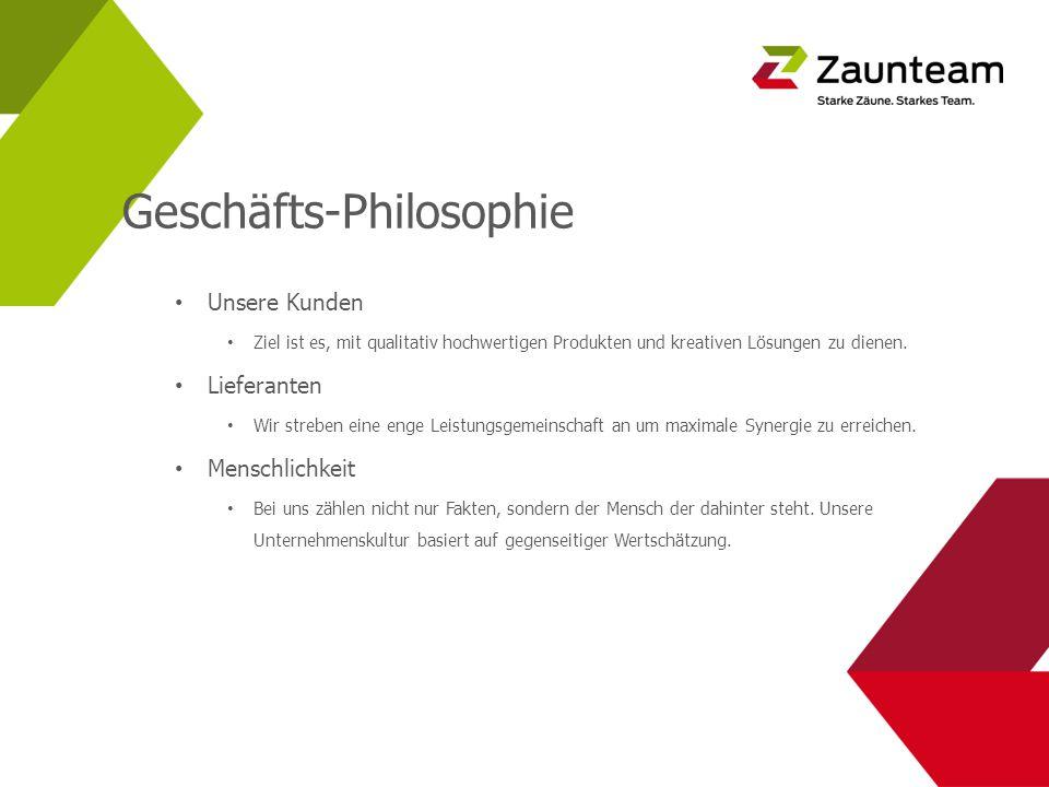Geschäfts-Philosophie