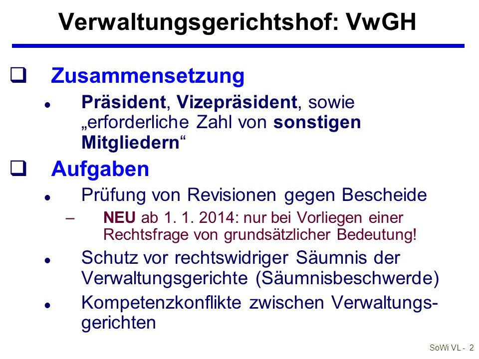 Verwaltungsgerichtshof: VwGH