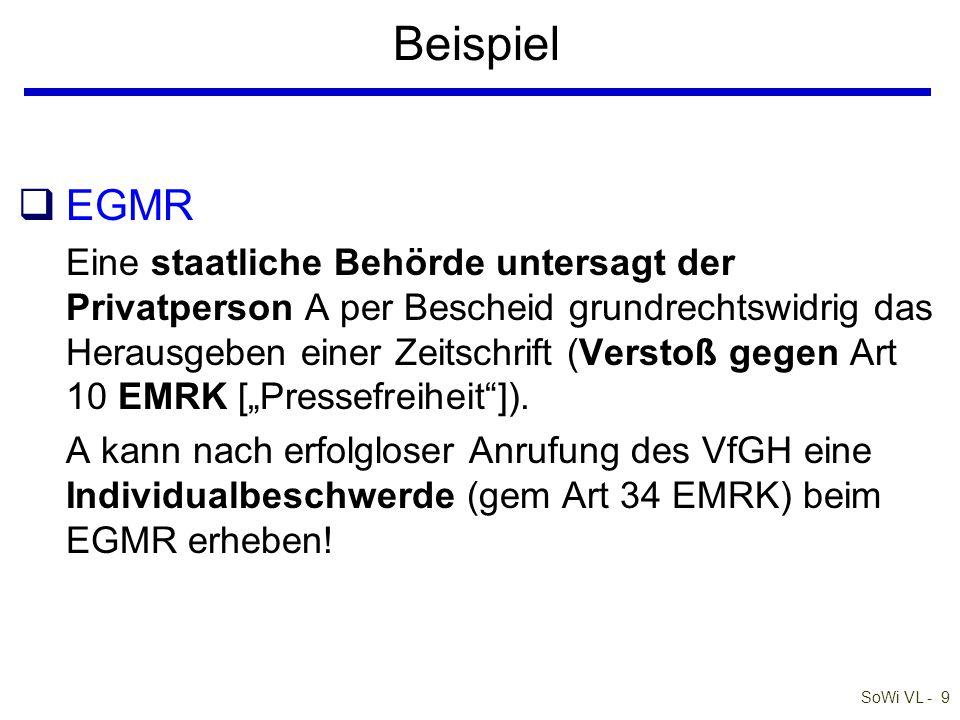 Beispiel EGMR.