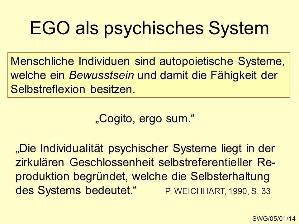 EGO als psychisches System