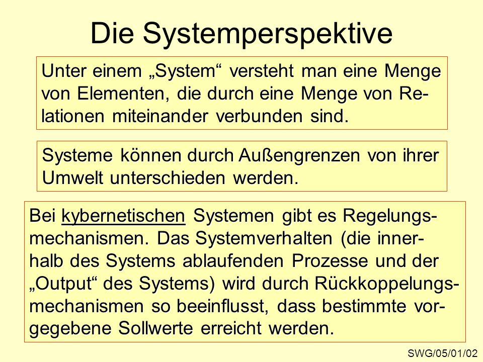 Die Systemperspektive