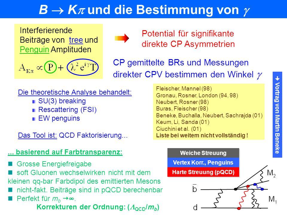 B  K und die Bestimmung von   Vortrag von Martin Beneke
