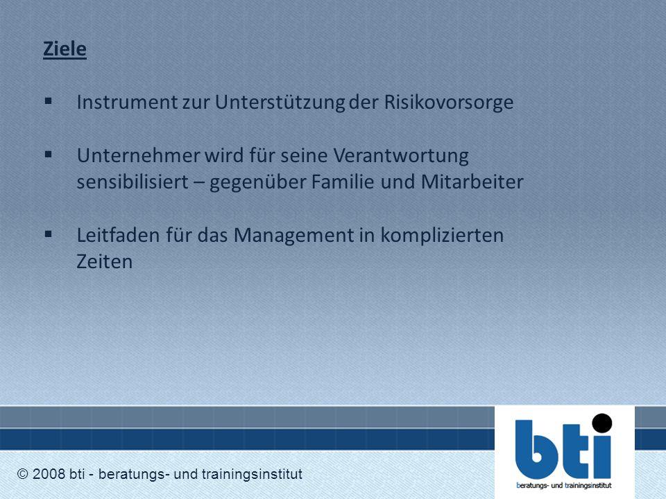 Instrument zur Unterstützung der Risikovorsorge