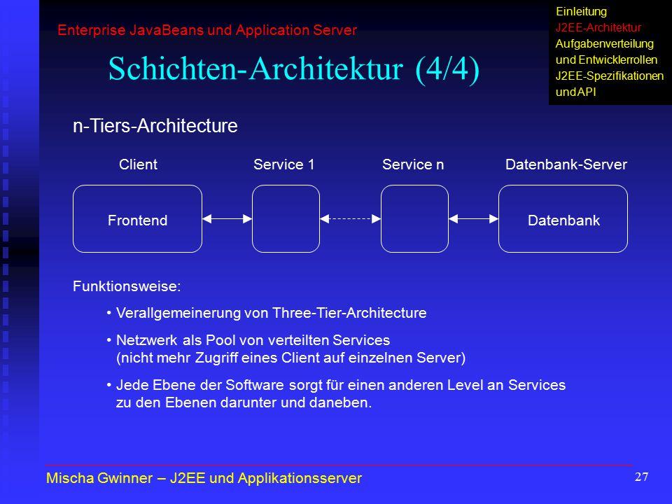 Schichten-Architektur (4/4)