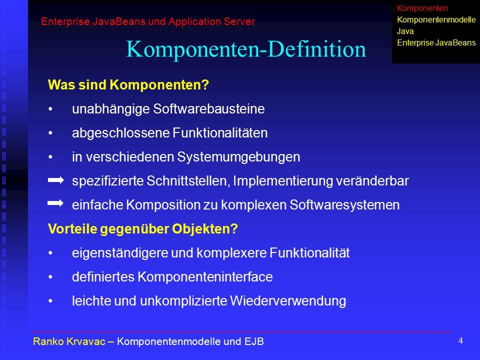 Komponenten-Definition