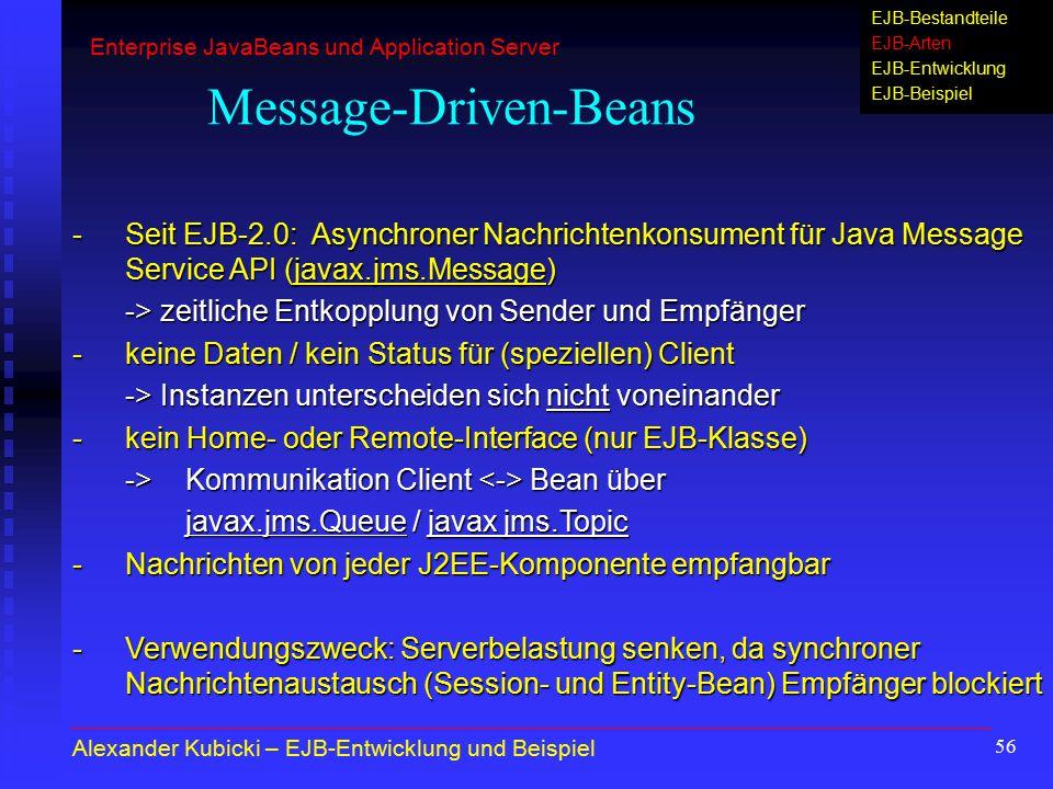 Message-Driven-Beans