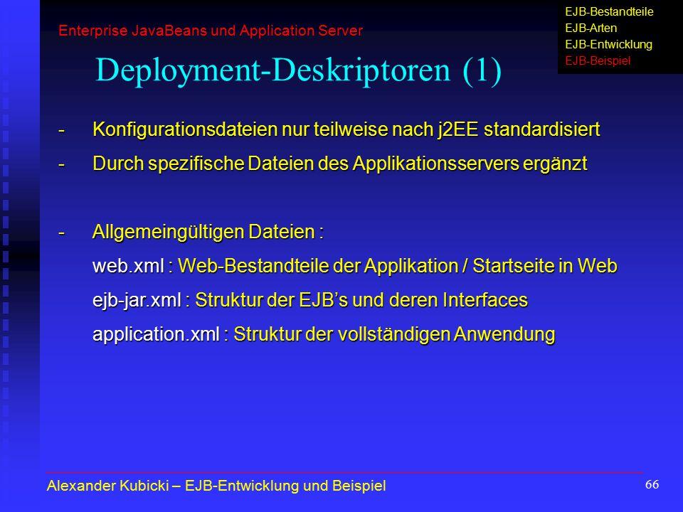 Deployment-Deskriptoren (1)
