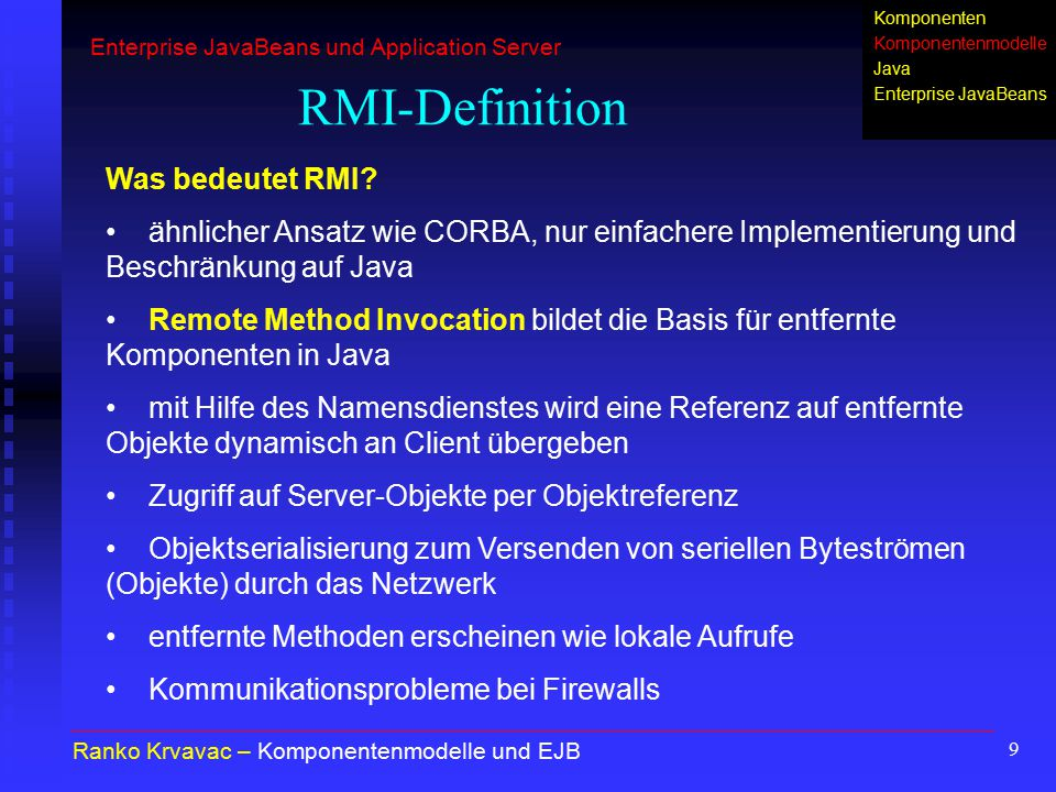 RMI-Definition Was bedeutet RMI