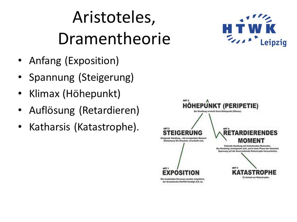 Aristoteles, Dramentheorie