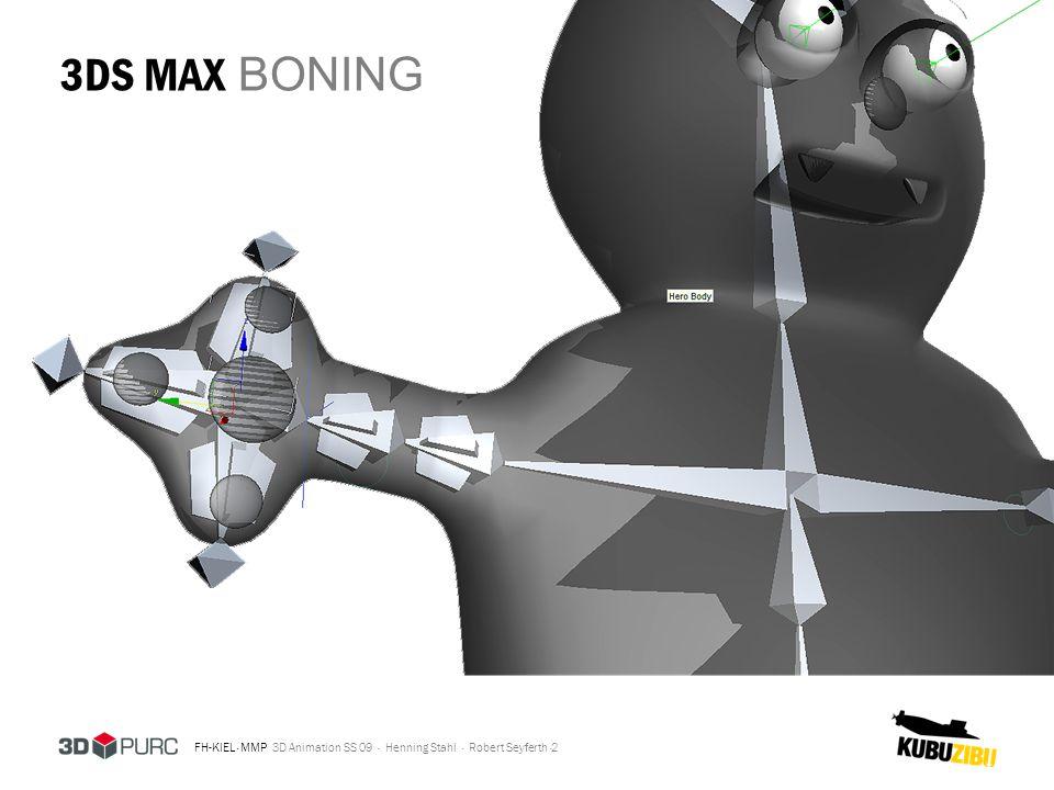 3DS MAX BONING