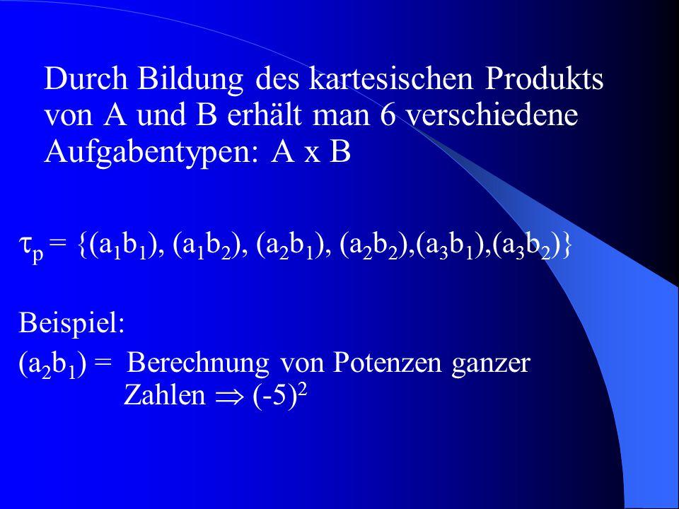 p = {(a1b1), (a1b2), (a2b1), (a2b2),(a3b1),(a3b2)}