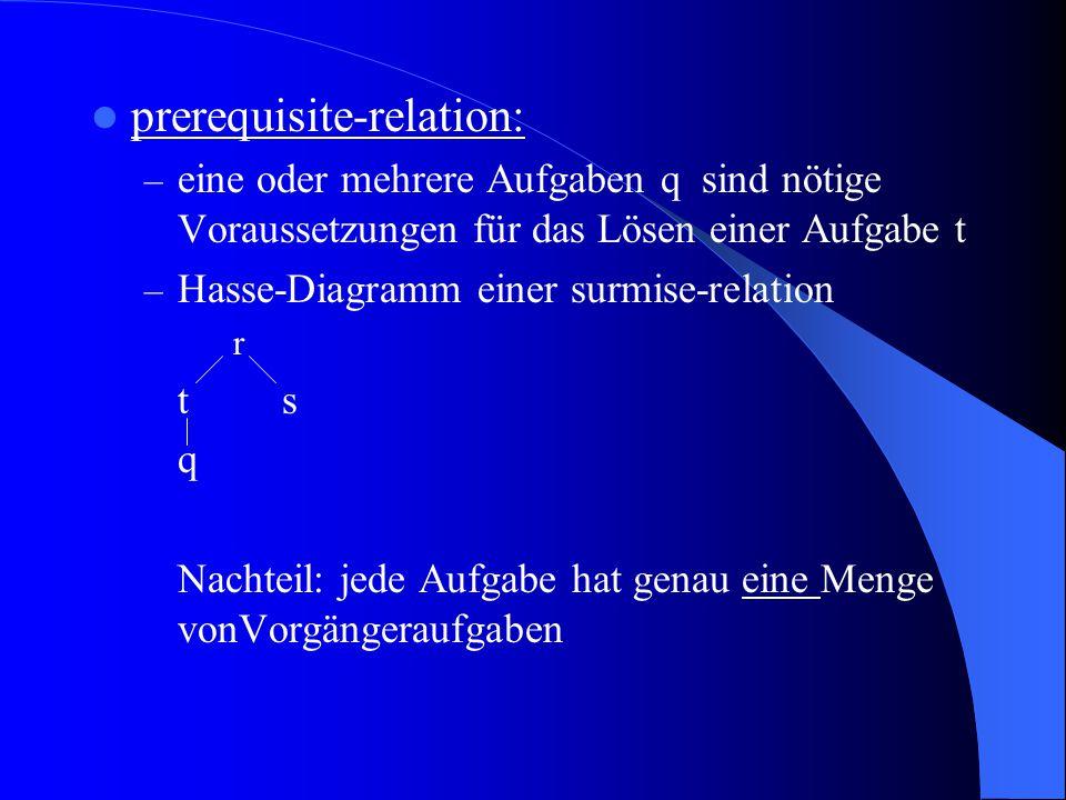 prerequisite-relation: