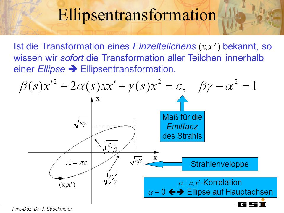Ellipsentransformation
