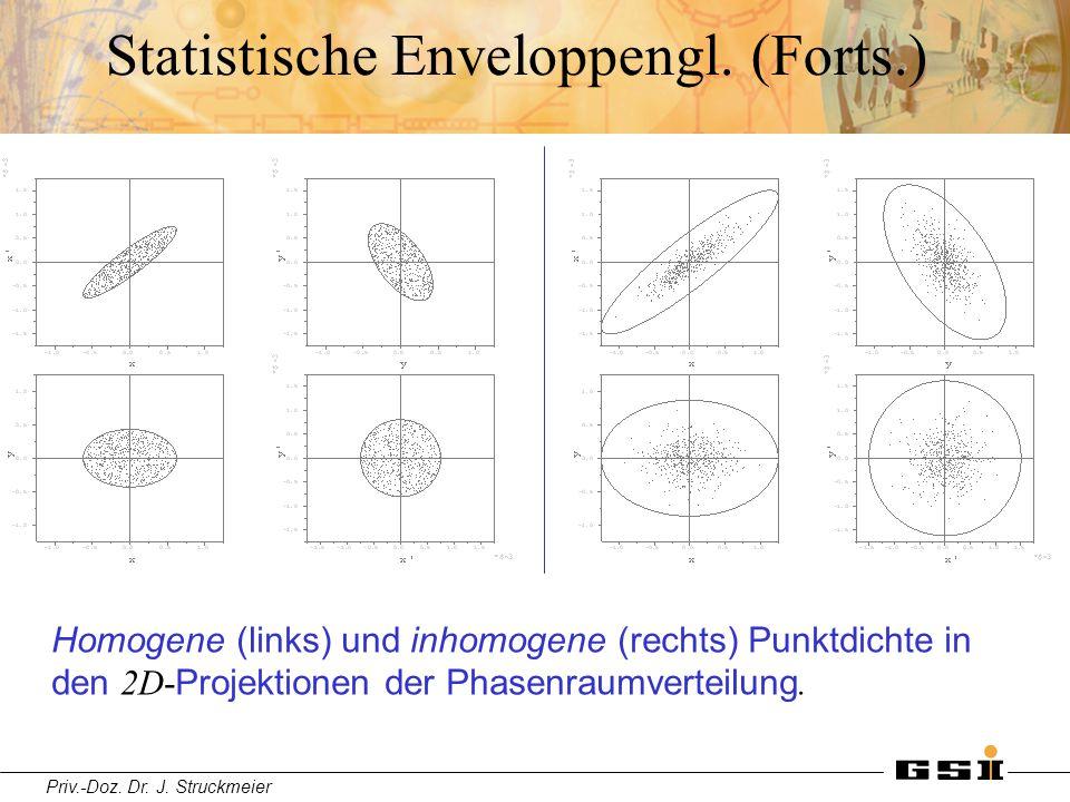 Statistische Enveloppengl. (Forts.)