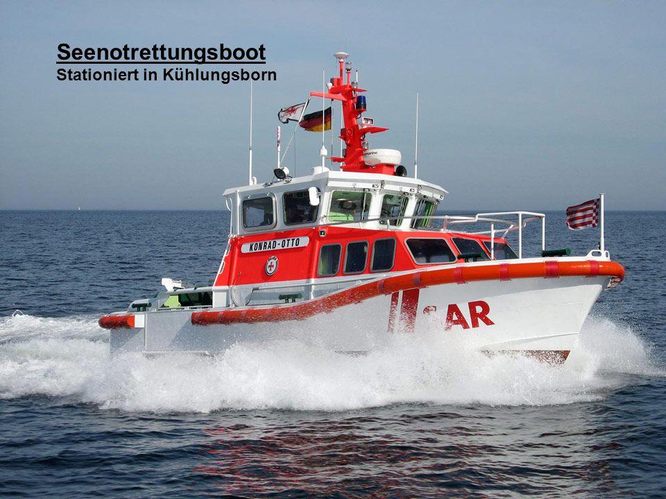 Seenotrettungsboot Stationiert in Kühlungsborn