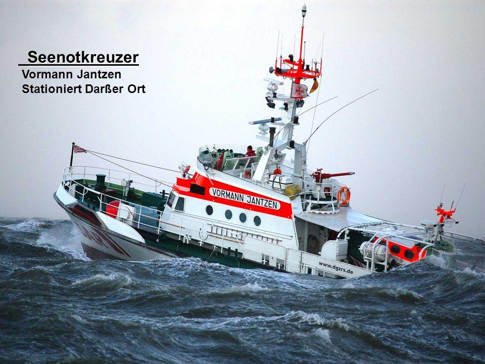 Seenotkreuzer Vormann Jantzen Stationiert Darßer Ort