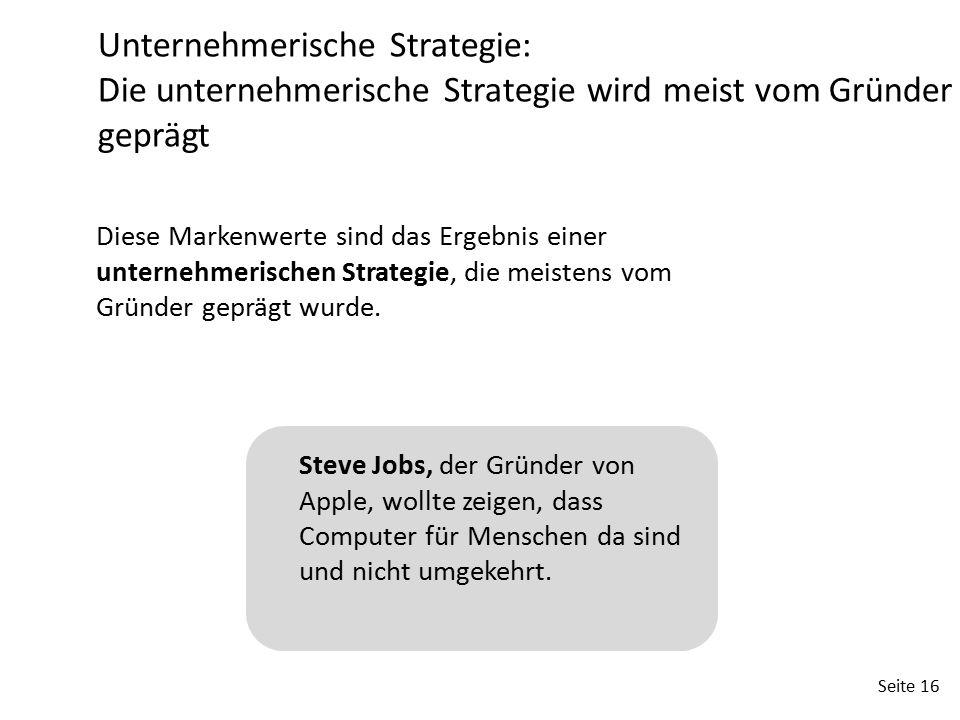 Unternehmerische Strategie: