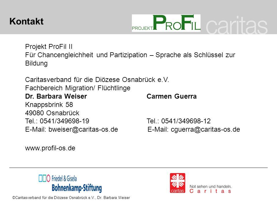 Kontakt Projekt ProFil II