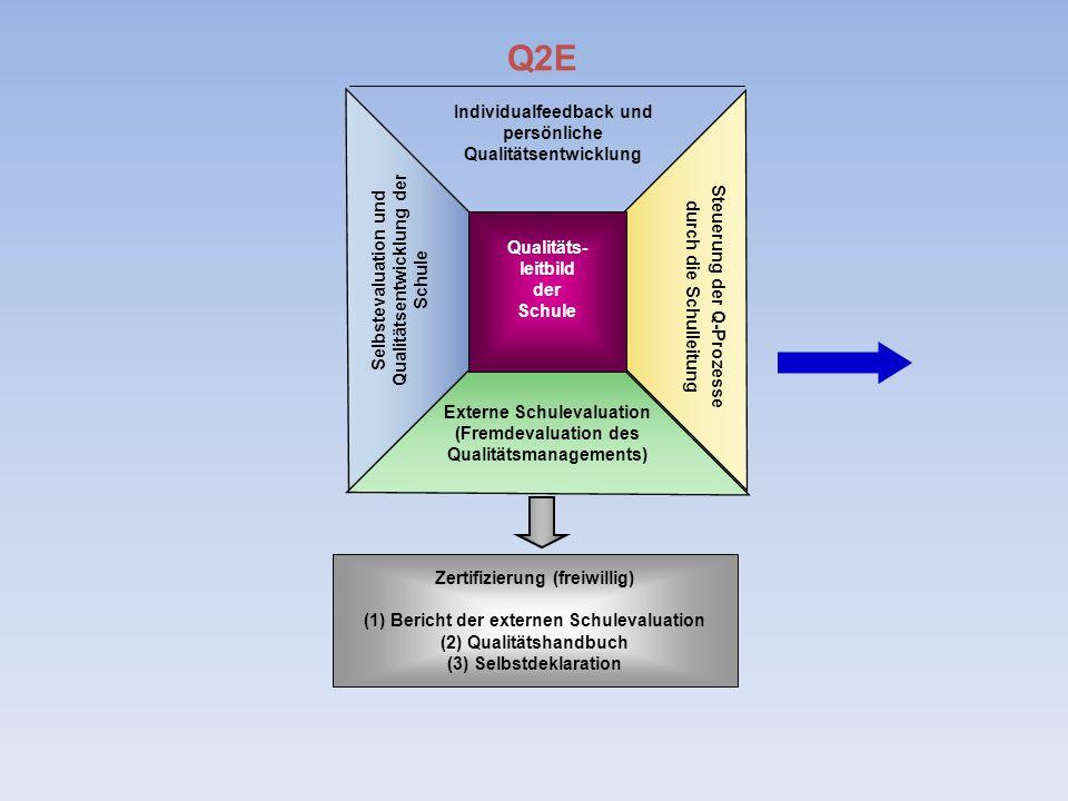 Q2E Individualfeedback und persönliche Qualitätsentwicklung