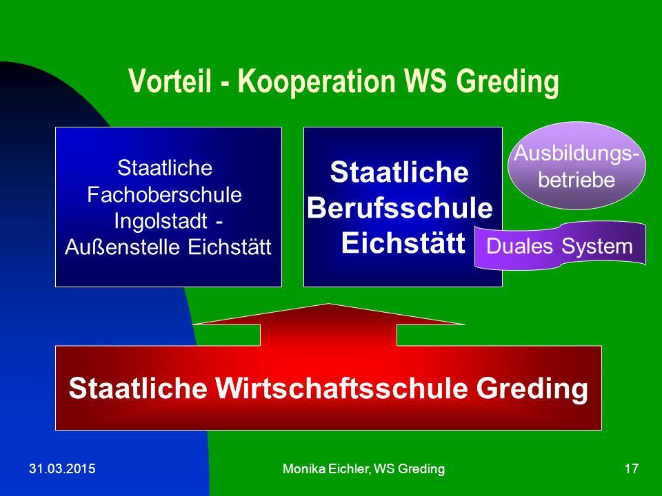 Vorteil - Kooperation WS Greding