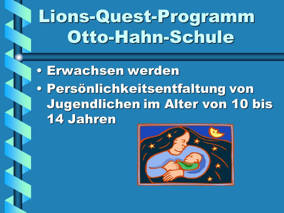 Lions-Quest-Programm Otto-Hahn-Schule